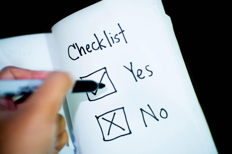 family gathering checklist