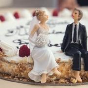 marriage retreat cake