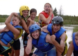 group retreats enjoy body surfing