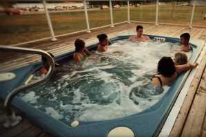 hot tub wilderness edge