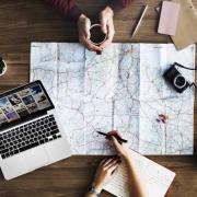 Manitoba retreat Travel Trip Map Direction Exploration Planning Concept