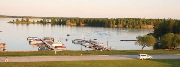 Wilderness Edge Marina is Things to do in Pinawa