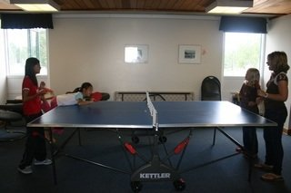 ping pong table is Things to do in Pinawa
