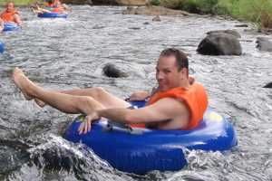 tubing rafting group retreats activities package