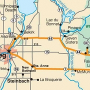 whiteshell provincial park map