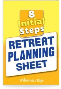8 Initial steps Retreat Planners Sheet