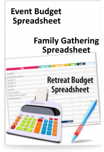 Retreat Budget Spreadsheet