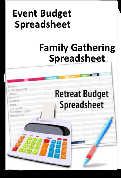Retreat Budget Spreadsheet